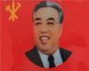 Kim Il Sung Badge