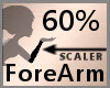 60% ForeArm Scaler F A