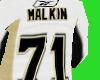 (AK)Malkin jersy wht