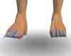 Blue Clawed Feet