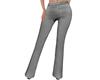 Grey Straight Pants