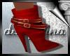 d3✠ Red Winter Booties