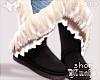 $ Winter Boots - Black