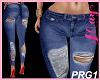 """Bimbo Jeans Ripped PRG1"