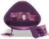 Girls 40% Chair Purple