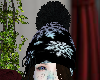 winter hat with hair
