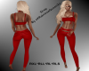 RQ-Full Outfit  Red *RL