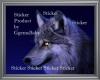 ~GgB~ Wolf Eye Sticker