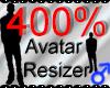 *M* Avatar Scaler 400%