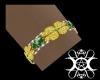 EmeraldsNCloverArmband