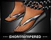 ST: Flip Flops Silver