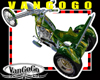 VG green Chopper Trike