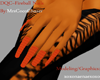 Coco Fireball Nails
