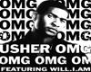 Usher OMG poster