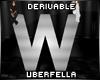 Derivable Letter W