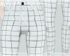 Jean White & Gray Lines