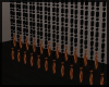Black/Gold Bead Curtain