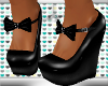 LTR Midy Blk Wedges