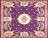 Vintage Lilac Area Rug