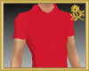 Goldi Red Polo Shirt