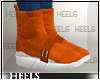 !H! SockSneakers Orange