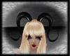 J Horns Black PVC