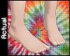 ☯: Feet + White Nails