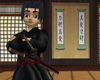 Samurai Hakama 2 Swords