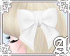 Lovely Ribbon Clip~ Whi2