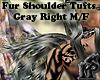 Fur Shoulder Tufts R M/F