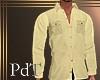 PdT Creme Twill Shirt M