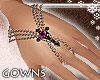 Victoria ruby bracelet