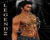 Diamond Mens Chain Throw