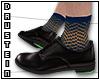 d| Black Derby Shoes