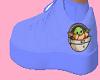 Baby yoda shoes