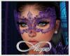 Masquerade Mask Purple