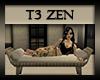T3 Zen Modern Bench