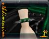 Green Spike WristB Right
