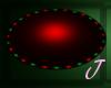 [JMRG] R/G Oval Rug