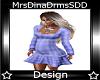 DD! Purple Prego Dress