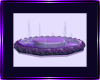 Purple rose floor foun