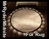 Fur Round Rug