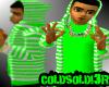 [LF] G+W Stripy Hoodie