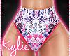 RLL Neon Geisha Shorts