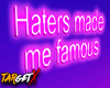 ✘ Haters | Neon