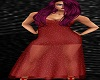 Long Shear Gown Red