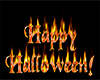 Happy Halloween On Fire