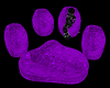 ⓅAnim. Paw Couch Purp
