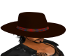 CowBoy Hat With Hair