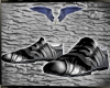 street silver shoes